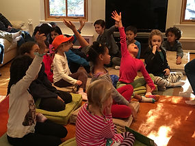 Children engaging at Performance Workshop
