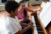 Piano Lesson at Keys to Success