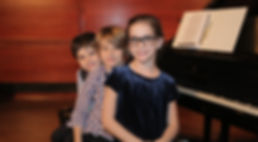 Students at Piano Recital