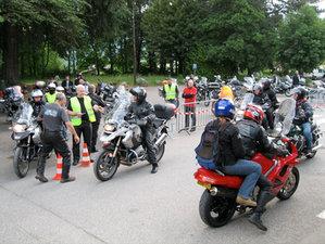 Rassemblement motos