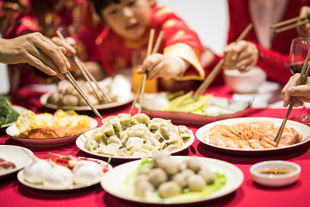 Chinese new year, also called Chinese lunar year, all familiar gather together to enjoy one big dinner