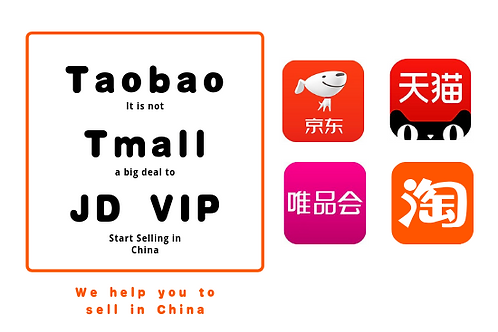 Help to sell on Taobao Tmall JD