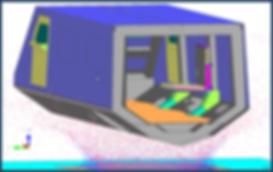 Under Vehicle Blast Simulation