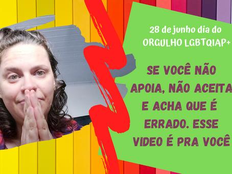 """VOCÊ TEM """"MEDO"""" DE TER UMA FILHA (O) LGBTQIAP+?"""
