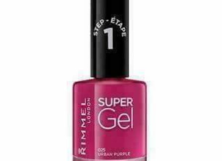 Rimmel Super Gel Nail Polish Urban Purple #025