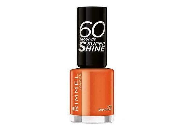 Rimmel 60 Seconds Super Shine Oragasm #403