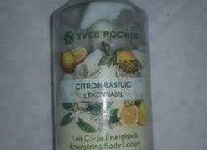 Yves Rocher Energizing Body Lotion Lemon Basil 200Ml