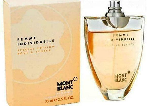 Mont Blanc Femme Individuel Soul & Senses Edt 75 Ml Women