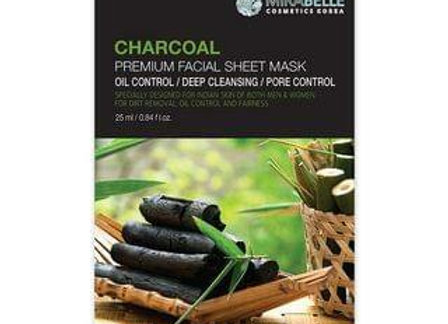 Mirabelle Charcoal Premium  Facial Mask