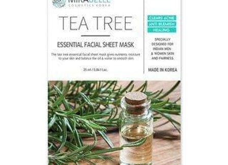 Mirabelle Tea-Tree essential Facial Mask