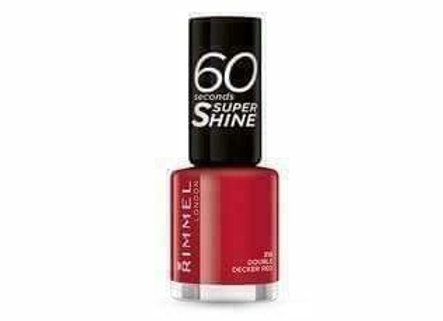 Rimmel 60 Seconds Super Shine Double Decker Red #310