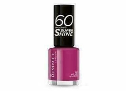 Rimmel 60 Seconds Super Shine Hip Hip Hooray #330