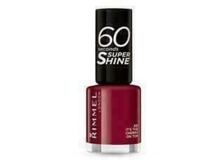 Rimmel 60 Seconds Super Shine Its The Cherry On Top #321