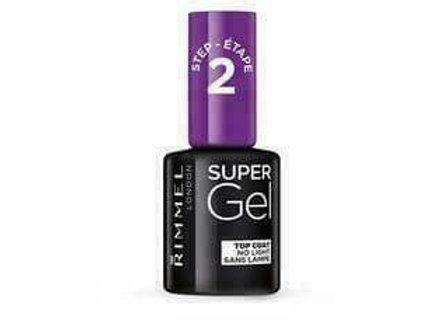 Rimmel Super Gel Nail Polish Top Coat - #001