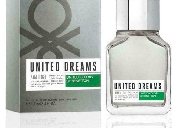 United Dreams Aim High Edt For Men 100 Ml