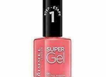 Rimmel Super Gel Nail Polish Cocktail Passion #032