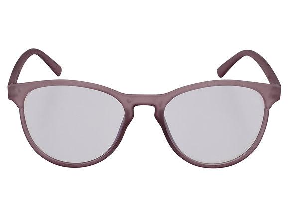 Round transparent sunglasses