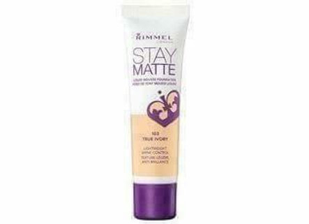Rimmel Stay Matte Liquid Mousse Foundation - True Ivory #103