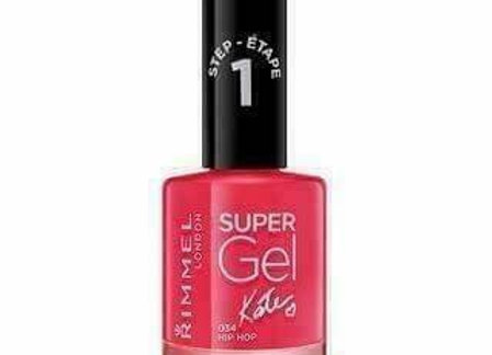 Rimmel Super Gel Kate  Nail Polish Hip Hop #034