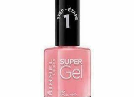 Rimmel Super Gel Nail Polish Angel Wing #022