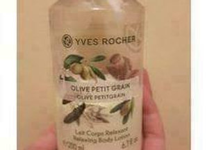 Yves Rocher Relaxing Body Lotion Olive Lemongrass Fl 200Ml