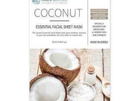 Mirabelle Coconut essential Facial Mask