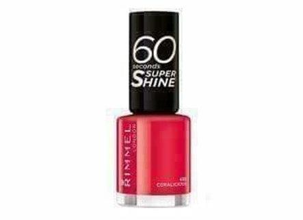 Rimmel 60 Seconds Super Shine Coralicious #430