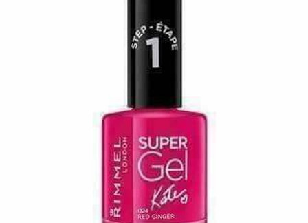 Rimmel Super Gel Kate  Nail Polish Red Ginger #024