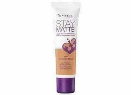 Rimmel Stay Matte Liquid Mousse Foundation - Natural #400