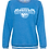 Thumbnail: Ladies Crewneck B-Ball Sweatshirt