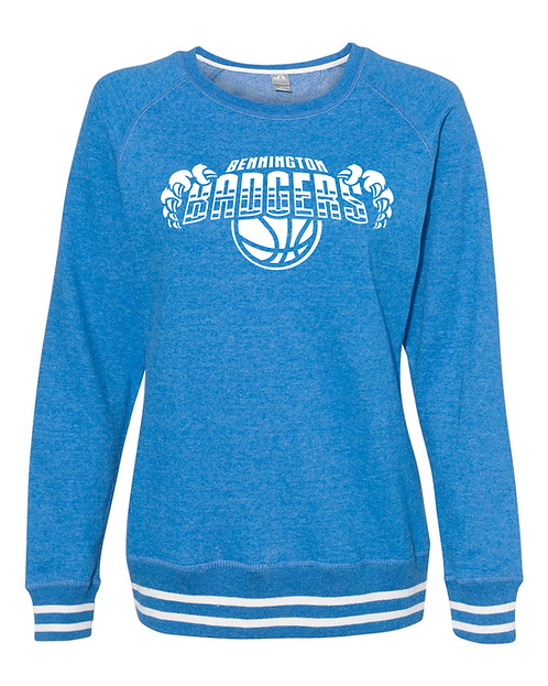 Ladies Crewneck B-Ball Sweatshirt