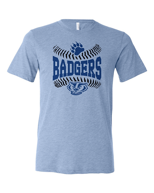 Badgers Stitches Tuffy Tee