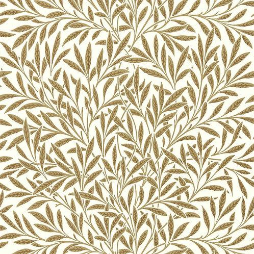 Morris &Co. Willow Behang            (Cream/Brown)