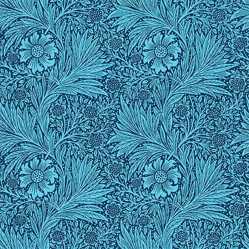 Morris &Co. Marigold Behang            (Aqua/Turquoise)