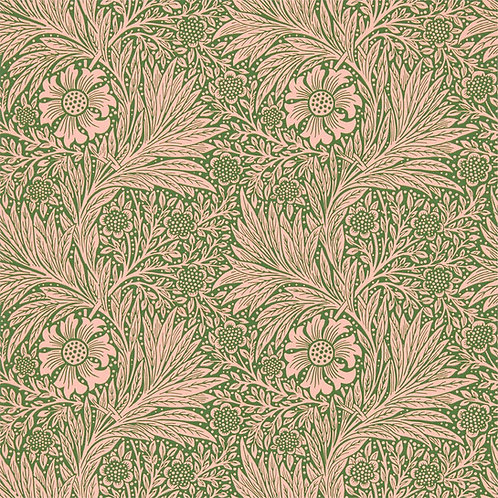 Morris &Co. Marigold Behang            (Pink/Olive)