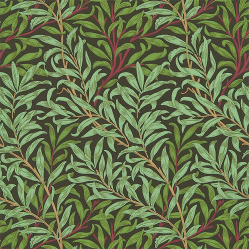 Morris &Co. Willow Bough Behang            (Bitter Chocolate)