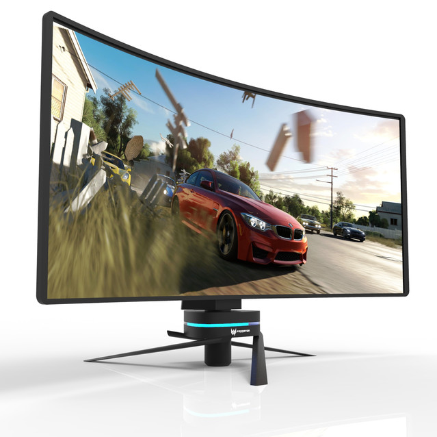 Acer Predator Monitor Render
