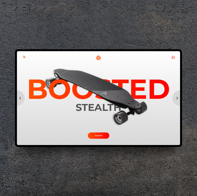 Boosted Stealth