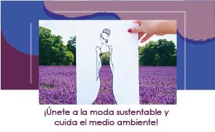 5 opciones para sumarte a la moda sustentable y respetar el medio ambiente.