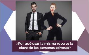 USAR LA MISMA ROPA ES LA CLAVE DE LAS PERSONAS EXITOSAS