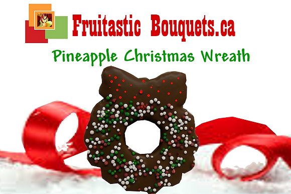 Add a Pineaple Chocolate Dipped Wreath