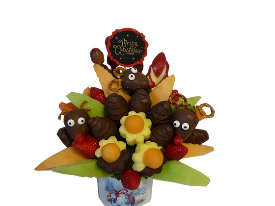 Rudolph Winter Bouquet