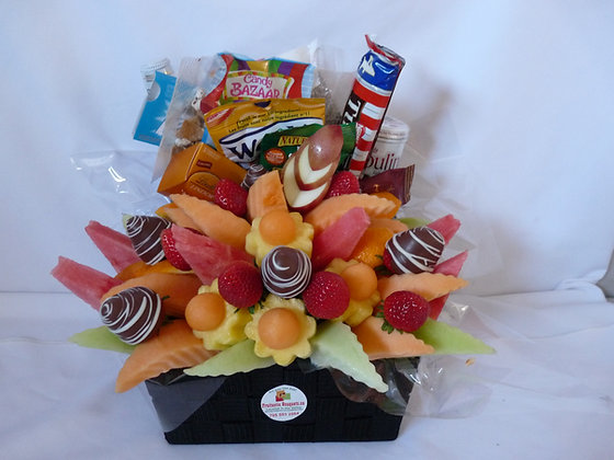 Fruit Bouquet/Snacks (Large Shown)