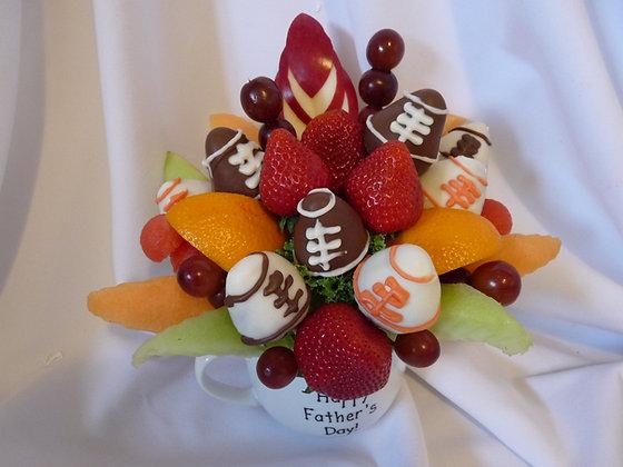 Father's Day/or Regular Mug Football Bouquet