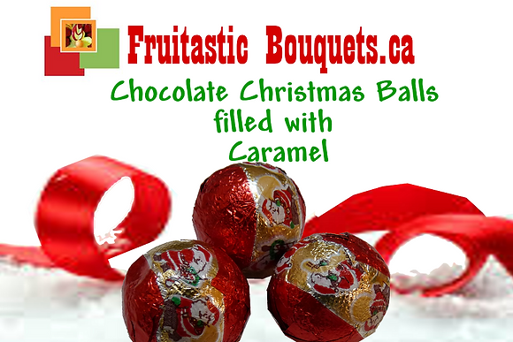 Add Chocolate Christmas Balls filled with Caramel
