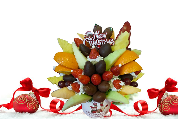 Happy Holiday Bouquet (medium shown)