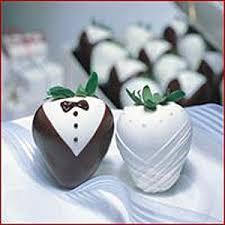 Bride and Groom Berries