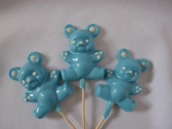 Blue Chocolate Bears