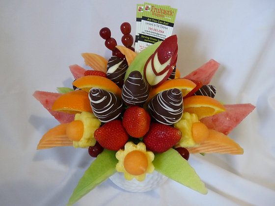 Tee Off Bouquet Chocolate