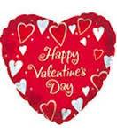 "Valentine Balloons 12"""